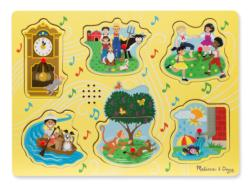 Sing-Along Nursery Rhymes 1 People Chunky / Peg Puzzle