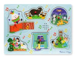 Sing-Along Nursery Rhymes 2 People Chunky / Peg Puzzle