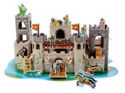 Medieval Castle History Children's Puzzles