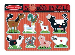 Farm Animals Farm Animals Chunky / Peg Puzzle