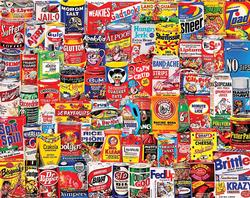 Wacky Packages Collage Jigsaw Puzzle