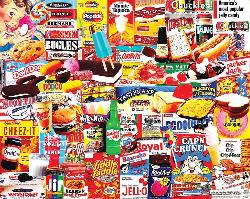 Things I Ate As A Kid Sweets Jigsaw Puzzle