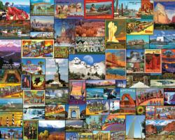 Best Places in America Collage Jigsaw Puzzle