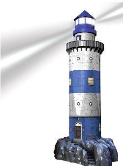 Lighthouse - Night Edition Lighthouses Jigsaw Puzzle