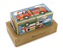 Vehicles Sound Blocks Vehicles Children's Puzzles