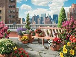 Rooftop Garden Garden Large Piece