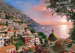 Positano Sunrise / Sunset Large Piece