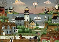 Beacons Cove Americana & Folk Art Large Piece