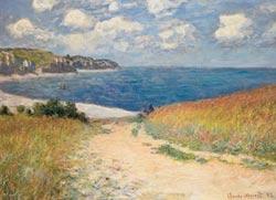 Path Through the Wheat Fields Seascape / Coastal Living Jigsaw Puzzle