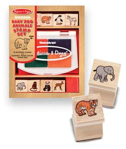 Baby Zoo Animals Stamp Set