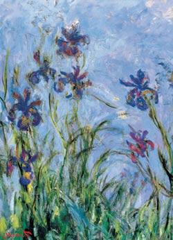 Irises Flowers Jigsaw Puzzle