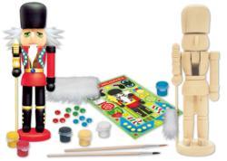 Works of Ahhh... Nutcracker Guard Wood Kit Snowman