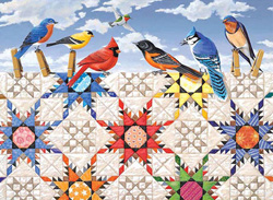 Feathered Stars Crafts & Textile Arts Jigsaw Puzzle
