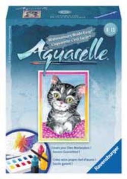 Cat (Aquarelle Mini) Miniature Puzzle