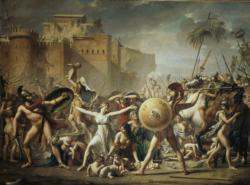 The Sabines Frozen The War Between Romans And Sabins Mythology Jigsaw Puzzle
