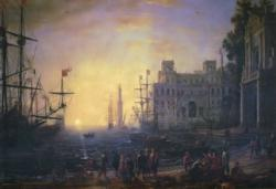 Porto Con Vila Medici Sunrise / Sunset Jigsaw Puzzle