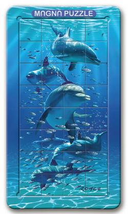 Dolphin Dolphins Lenticular Puzzle
