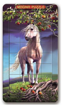 Horse Nature Lenticular Puzzle