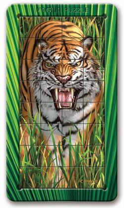Tiger Wildlife Lenticular Puzzle