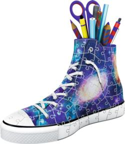 Sneaker: Galaxy Everyday Objects Shaped Puzzle