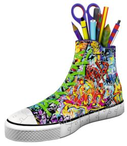Sneaker: Graffiti Everyday Objects 3D Puzzle