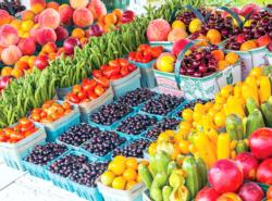 Farm Fresh Fruits and Produce, Ontario Food and Drink Jigsaw Puzzle