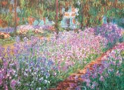 Monet's Garden Garden Jigsaw Puzzle