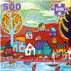 Lake Town Under The Sea Jigsaw Puzzle