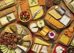 More Cheese Please Collage Jigsaw Puzzle