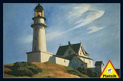 Lighthouse at Two Lights, 1929 Lighthouses Jigsaw Puzzle