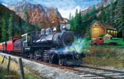 The Leinad Express Trains Jigsaw Puzzle