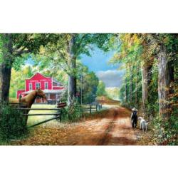 The Road to the General Store General Store Jigsaw Puzzle