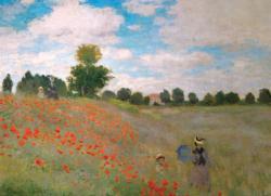 The Poppy Field Landscape Jigsaw Puzzle