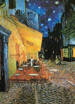 Cafe at Night Impressionism Jigsaw Puzzle