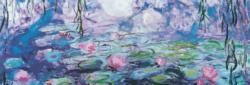 Waterlillies by Claude Monet Impressionism Panoramic Puzzle