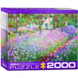 Monet's Garden Fine Art Jigsaw Puzzle