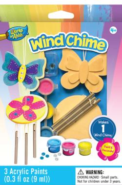 Mini Windchime Wood Kit Butterflies and Insects