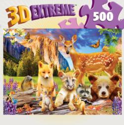 Cute Critters Wildlife Lenticular Puzzle
