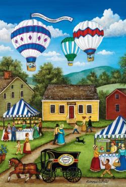 Blueberry Festival Balloons Tin Packaging