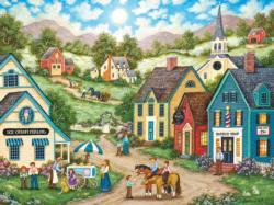 Double Dip Americana & Folk Art Jigsaw Puzzle