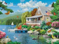 Lakeside Memories (Memory Lane) Summer Large Piece