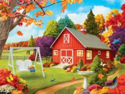 Harvest Breeze (Memory Lane) Farm Large Piece