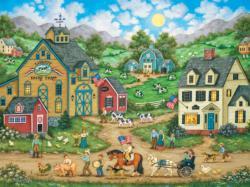 Liberty Farm Parade (Heartland Collection) Countryside Jigsaw Puzzle