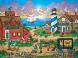 The Days End (Heartland Collection) Americana & Folk Art Jigsaw Puzzle