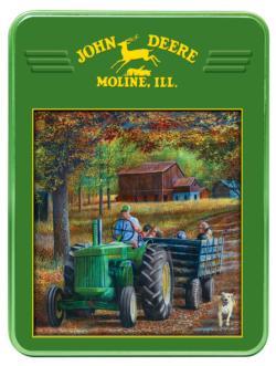 Ride Along (John Deere) John Deere Jigsaw Puzzle