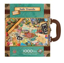 Safe Travels Travel Jigsaw Puzzle