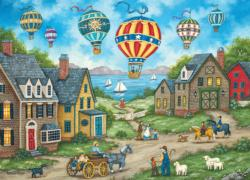 Passing Through Balloons Jigsaw Puzzle
