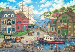 Seagull's Delight Seascape / Coastal Living Jigsaw Puzzle