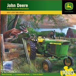 Deere Crossing Wildlife Jigsaw Puzzle