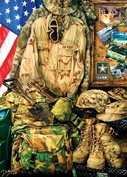Army Strength Military / Warfare Jigsaw Puzzle